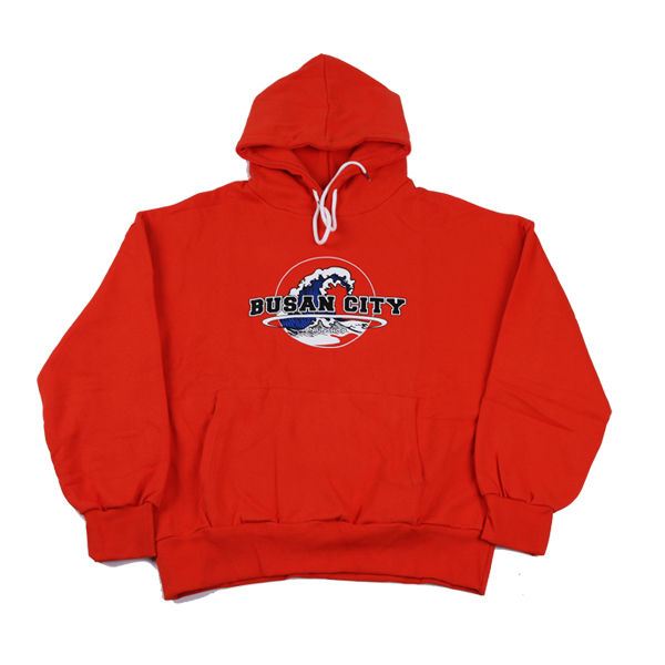 [UNIUNSHOP] BUSANCITY HOOD - ORANGE