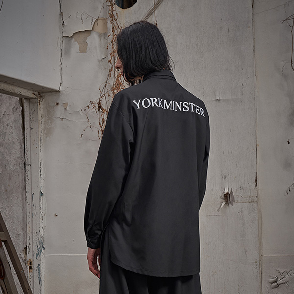 [요크민스터:YORKMINSTER] AUSPICIOUS-005 EMBROIDERY SHIRT