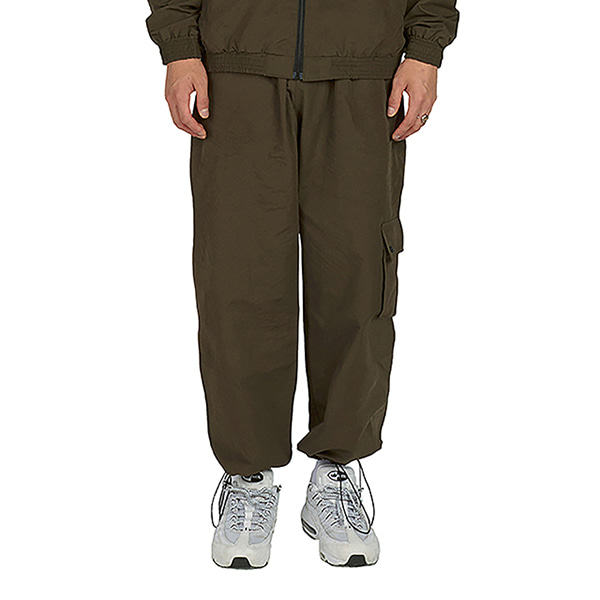 [노패스트노퓨쳐:nopastnofuture] Point Pocket Cargo Pants - Khaki