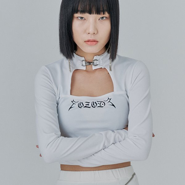 [어져드:OZOD] SQUARE NECK TOP_white
