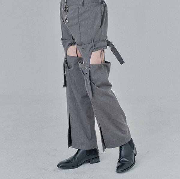 [어져드:OZOD] DETACHABLE PANTS_gray