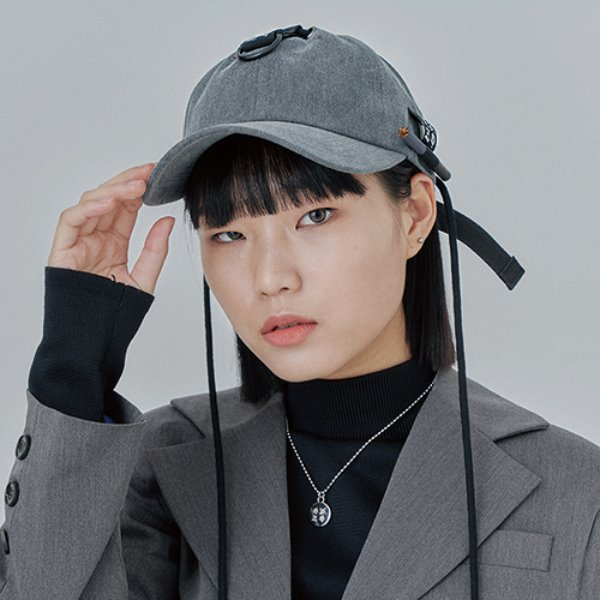 [어져드:OZOD] SMOKER BALL-CAP_gray